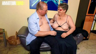 AMATEUR EURO   German Granny Birgit W. Wants To Feel Again Tickled at The G Point