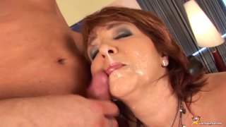 redhead curvy mom first time anal sex