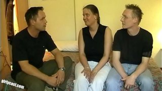 Chubby Kerstin Casting  Hubby protested