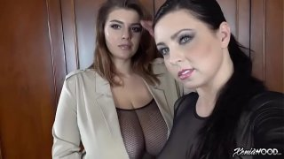 Xenia Wood &amp_ Ewa Sonnet go on Fatprofiles.com to get a cock