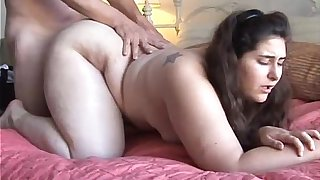 Beautiful big tits BBW loves to fuck