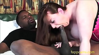 175-chubby  bbw slut sucking big black cock