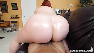 PAWG Marcy Diamond Fucks Big Black Cock POV