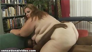 SSBBW Desiree Devine Loves Big Black Cock