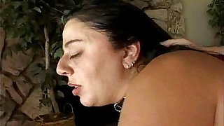 Big tits BBW played with and fucked