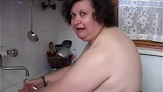 Old fat woman would like a cock