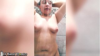 Soapy Showering in PUBLIC at the Gym